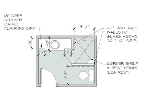 Bathroom Floor Plans Walk In Shower by Pin On Home