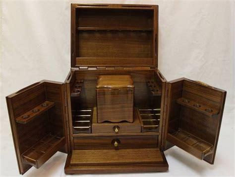Cigar Cabinet Humidor Australia by Vintage Alfred Dunhill Mahogany Wood Smokers Cabinet Cigar