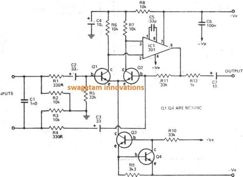 Build This Balanced Microphone Preamplifier Circuit