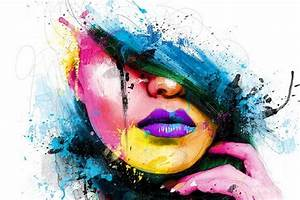 Abstract Colored Girl HD Wallpaper | Abstract | Pinterest ...