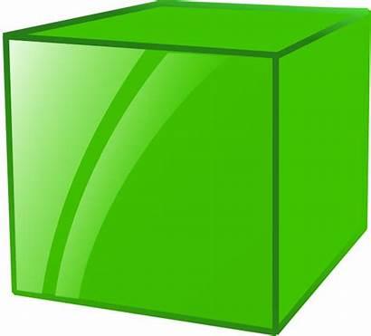 Cube Clipart Box Vector 3d Clip Shape