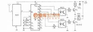 Remote Control Automatic Door Circuit Diagram