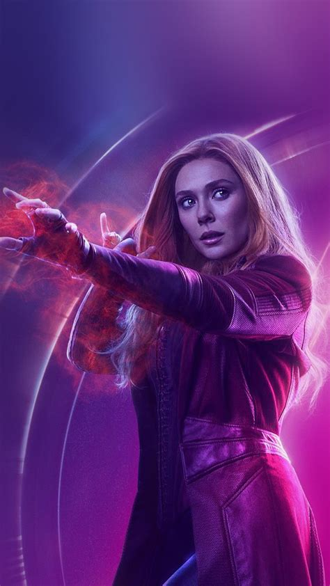 papersco iphone wallpaper  scarlet witch avengers