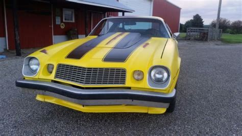 1975 Chevrolet Camaro Z28 Bumblebee Transformer