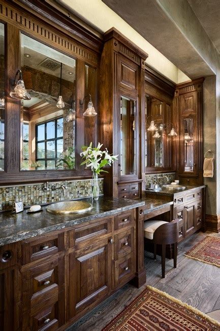 rustic bath vanities bathroom ideas pinterest bath