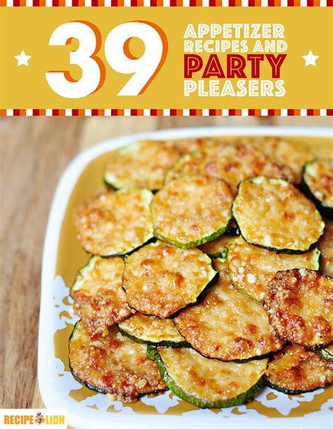 39 appetizer recipes and party pleasers free ecookbook recipelion com