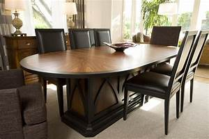 High End Dining Tables With Contemporary Artistic Oval ...