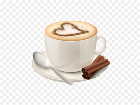 cappuccino coffee espresso cafe love hot milk tea png