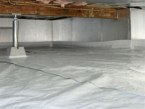 Insulating Crawl Space With Dirt Floor by Crawl Space Waterproofing Moisture Cleanspace