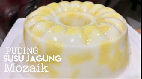 Puding jagung rupanya merupakan salah satu puding yang memiliki banyak peminat. Resep Puding Susu Jagung Mozaik - YouTube