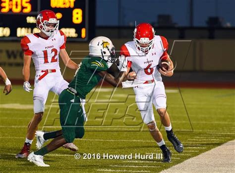 photo   football photo gallery ponder  benbrook