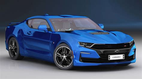 2019 Chevrolet Models by Chevrolet Camaro Ss 2019 3d Model Turbosquid 1379246