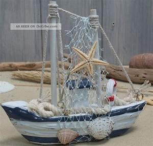 Maritime Deko Fürs Bad : fischerboot aus holz mit fangnetz bad deko 12 5x12cm ~ Markanthonyermac.com Haus und Dekorationen