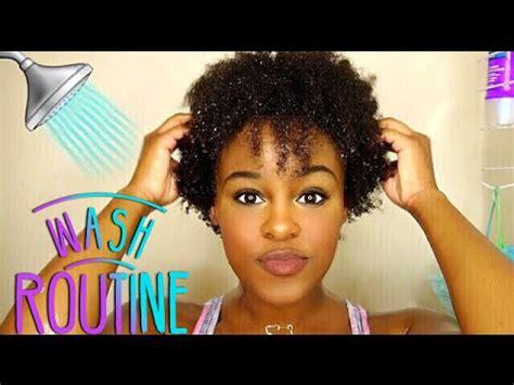 Natural 4c Hair  Wash Day Routine  Vanity Planet Scalp