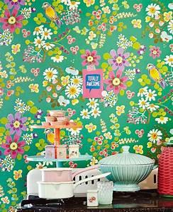 Papier Peint Fleuri : 17 meilleures id es propos de papiers peints fleuris sur ~ Premium-room.com Idées de Décoration
