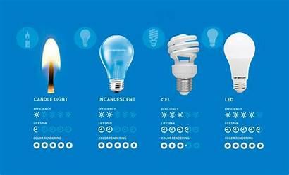 Led Lights Incandescent Bulbs Cfl Between Energy