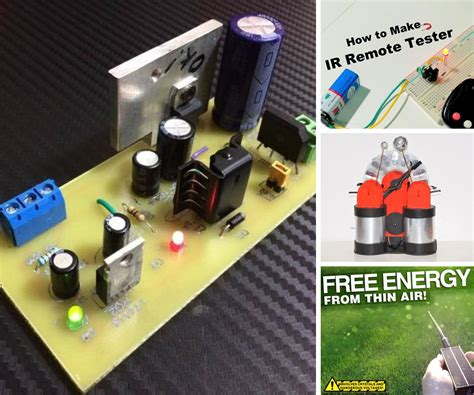 Electronic Projects - Instructables
