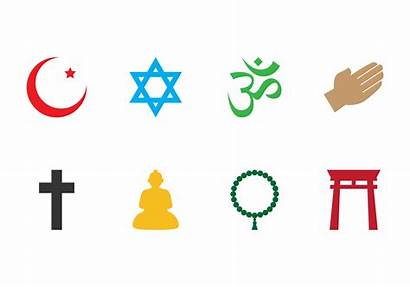 Religion Symbol Vector Buddha Clipart Outlines Fat