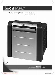 Clatronic Cl 3134 User Guide Manual Air Conditioner