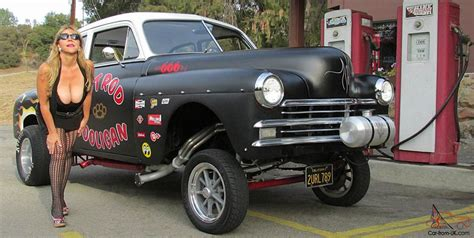 Rod Cars For Sale Ebay by 1949 Plymouth Special Deluxe 2 Door Rat Rod Gasser