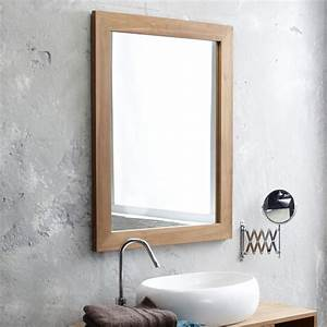 teck tona mirror living room mirrors sale 90x70 at tikamoon With miroir salle de bain 120 x 90