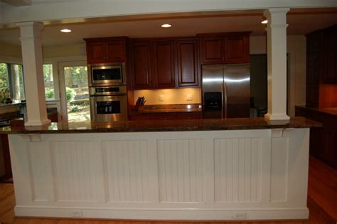 kitchen island wainscoting kitchen island with wainscoting americanbath 2039