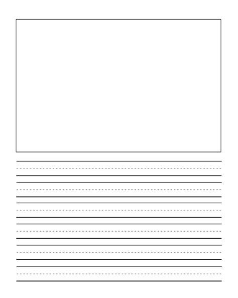 journal writinghandwriting paper freebie kindergarten