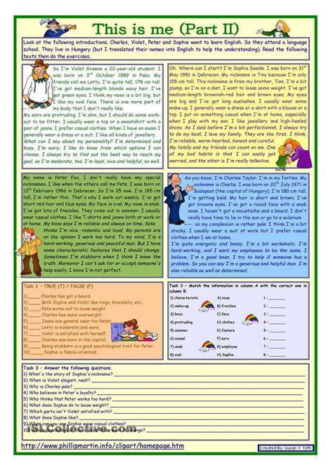 ideas about reading comprehension worksheets on