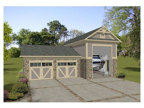 Boat Garage Plans With Loft by Boat Storage Garage Plan Boat Storage Or Rv Garage