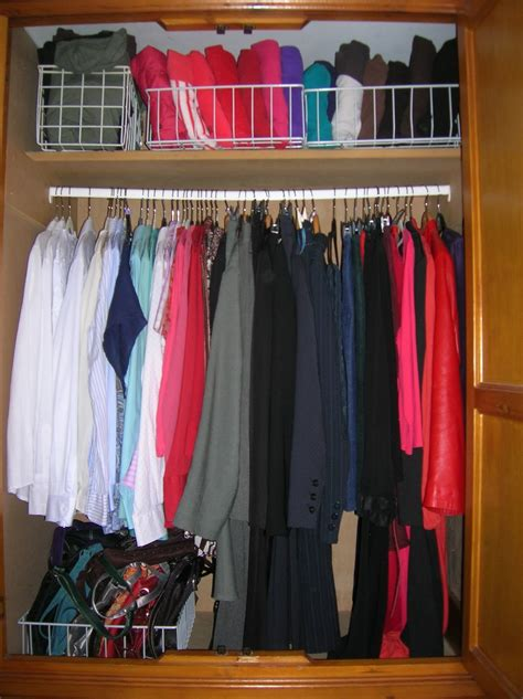 sew ruthie style konmari 1 7 hanging clothes in wardrobe