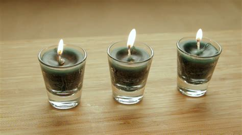 how to make glass l how to make shot glass candles 7 steps with pictures
