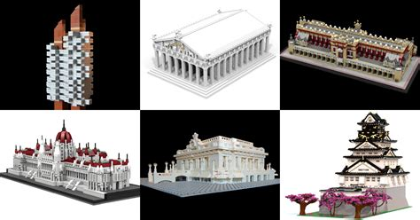 19 Of Our Favorite Usercreated Architecture Lego Sets