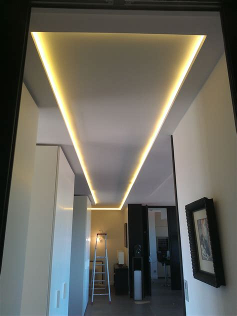 installation spot led plafond eclairage