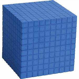 Base Ten - Plastic  Thousand Block