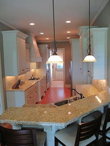 galley kitchen with breakfast bar 16 best images about breakfast bar area on 6781