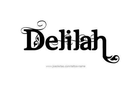 delilah  tattoo designs