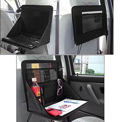 siege auto avec tablette kabalo pliable siège arrière de voiture de stockage