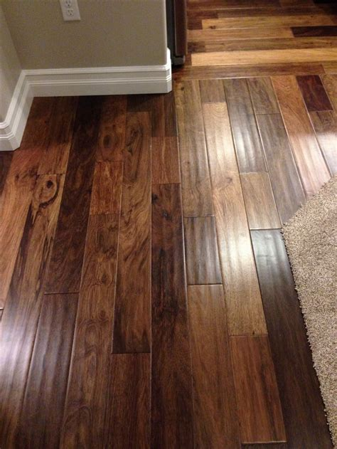 wood flooring engineered african ebony engineered wood floor by mohawk 5 inch plank hand scraped would look good with