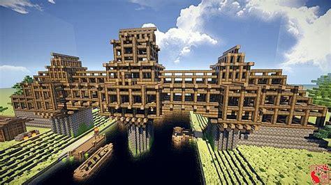 imaginary castle bridge map minecraftnet