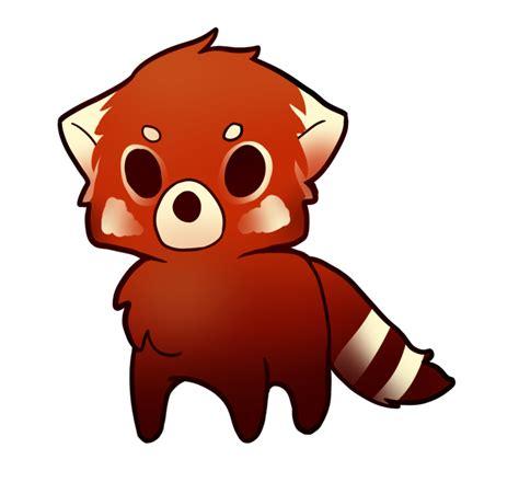 red panda cute panda drawing   clip art