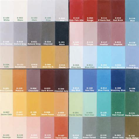Color Palette  Original Mission Tile