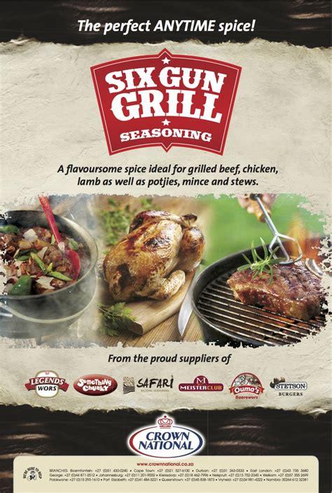 crown national  gun grill seasoning bbq