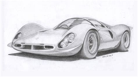 Car Pencil Art & Drawings
