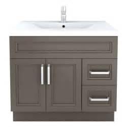 cutler kitchen bath sundown contemporary bathroom vanity 36 in x 22 in lowe s canada