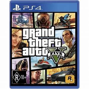 Grand Theft Auto GTA V (Five 5) PS4 Game (Australian ...