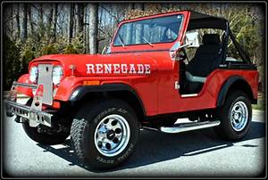 Frame-off Restored 1980 Jeep Cj5 Renegade - Excellent Condition