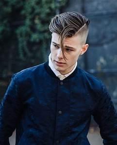 Raie Sur Le Coté Homme : coiffure ann e 60 homme femme retour vers le r tro obsigen ~ Melissatoandfro.com Idées de Décoration