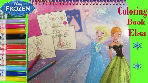 disney frozen coloring book elsa   draw elsa