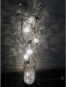 aluminum floor lamp table led light flower vase floor lamp With led flower floor lamp