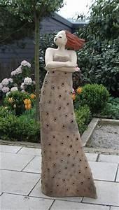 Deko Skulpturen Modern : gartenkunst milva margit hohenberger keramik kunst in hof skulpturen pinterest kunst ~ Indierocktalk.com Haus und Dekorationen